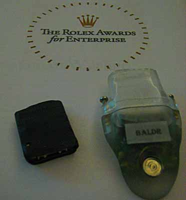 Dr Rory Wilson's Tracking Device
