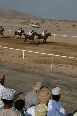 Horse Race in Adam Oman