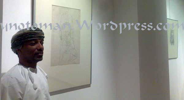 Malik was finalizing the Gustav Klimt exhibition