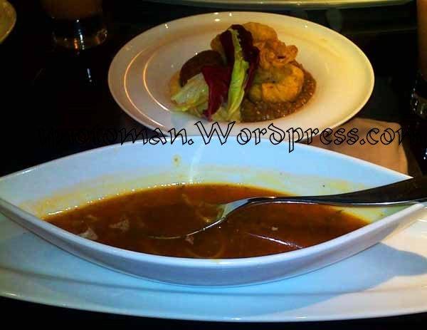 A very good soup at Ubhar