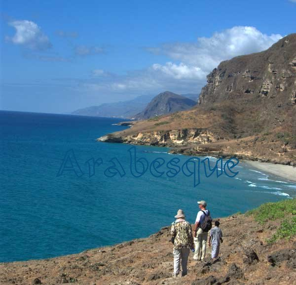Walking along the Coast of Dhofar