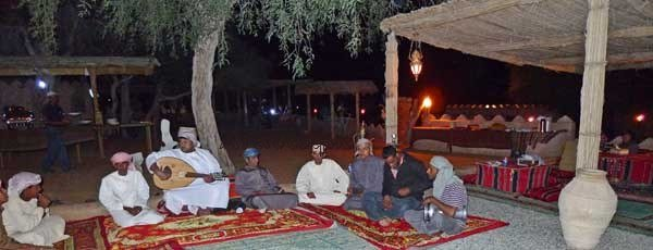 Music in Camp Oman