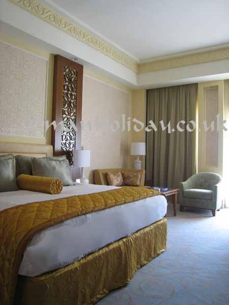 Al Bustan Palace bed room