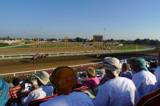 Horse Race for Queen Elizabeth in Oman