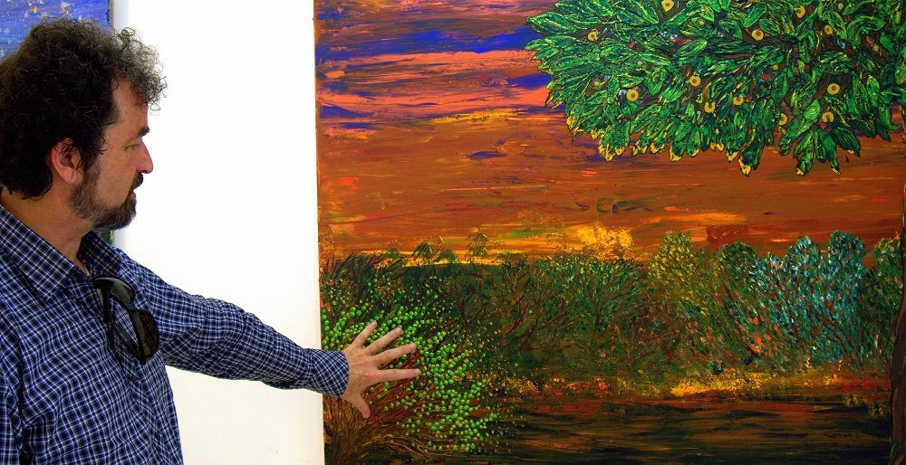 Peter Farrington and Painting