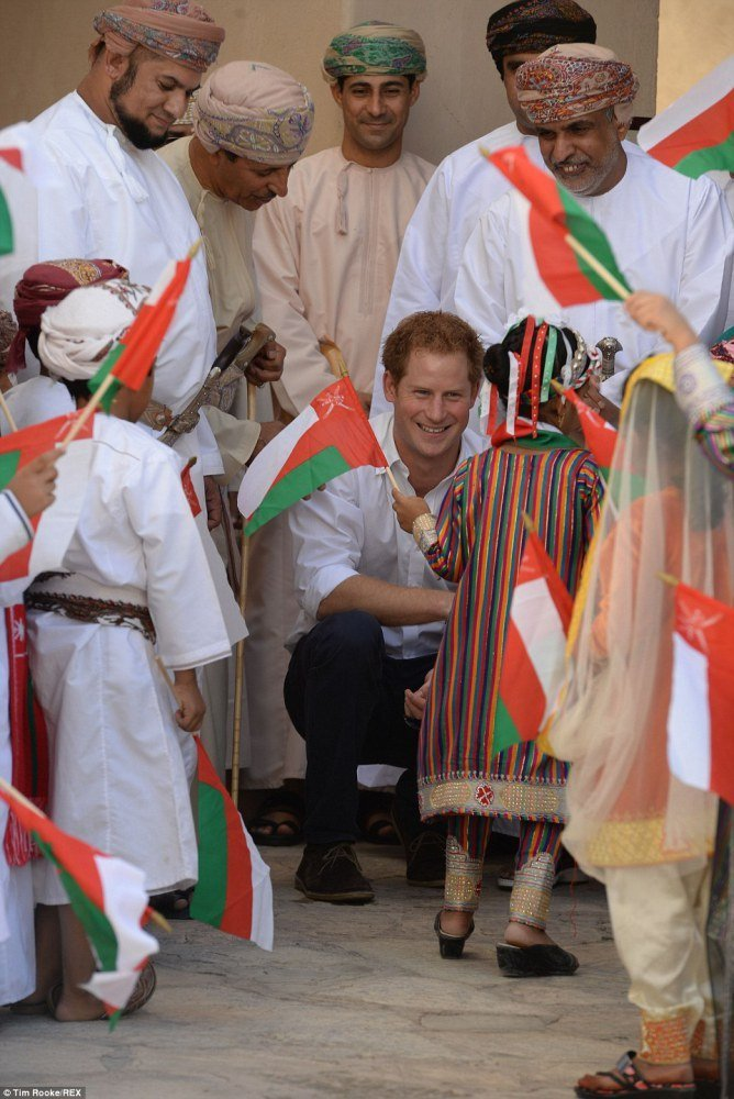 Prince Harry in Oman