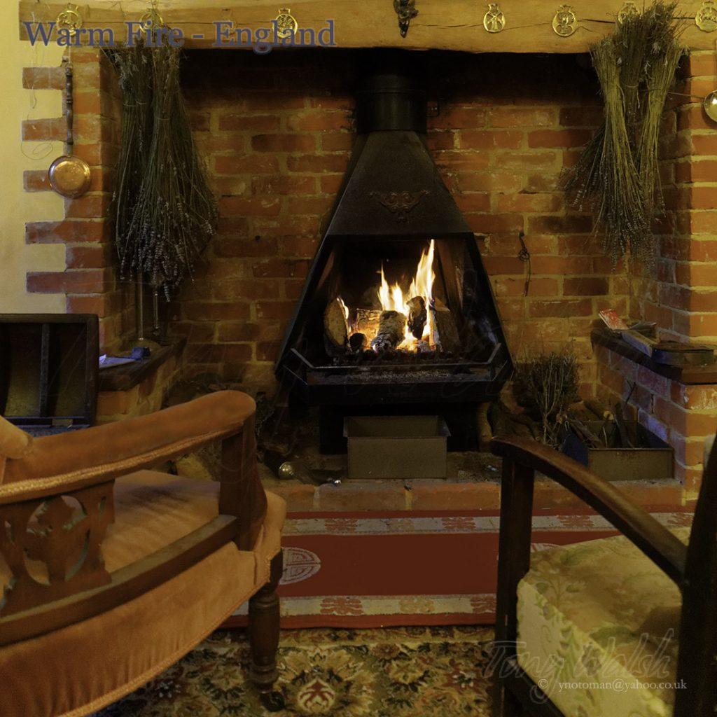 Warm Fire England