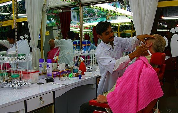 Close Shave in Salalah