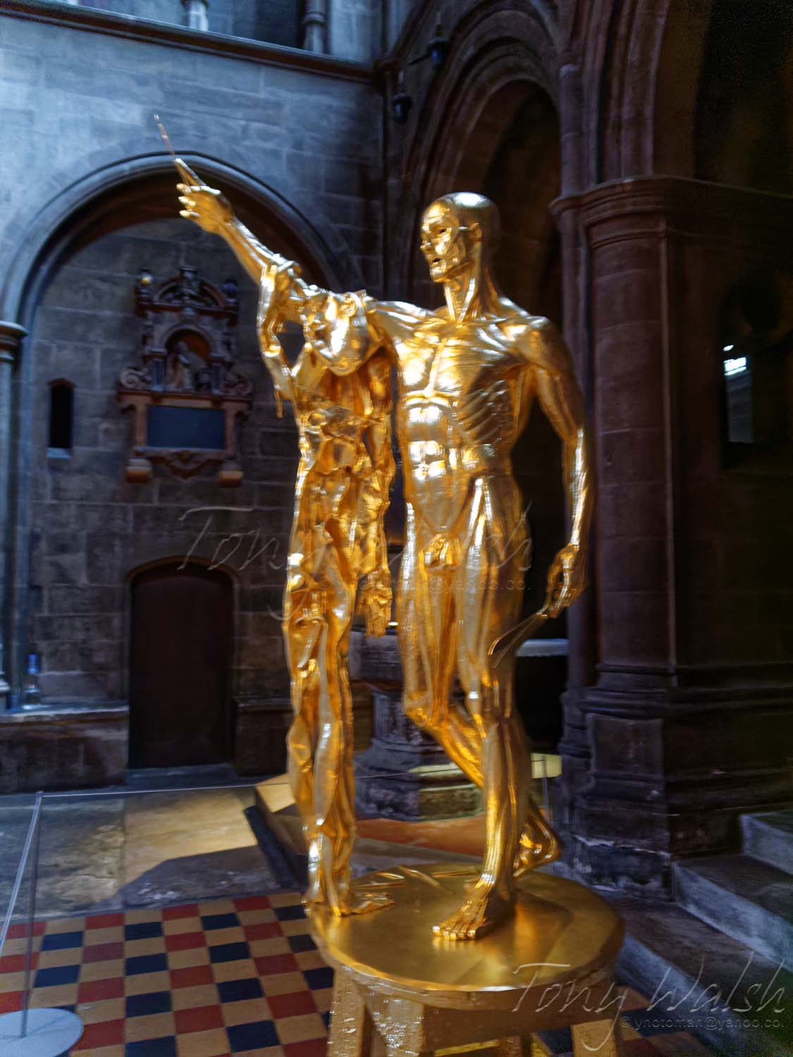 St Bartholomew the Great Exquisite Pain Damien Hirst