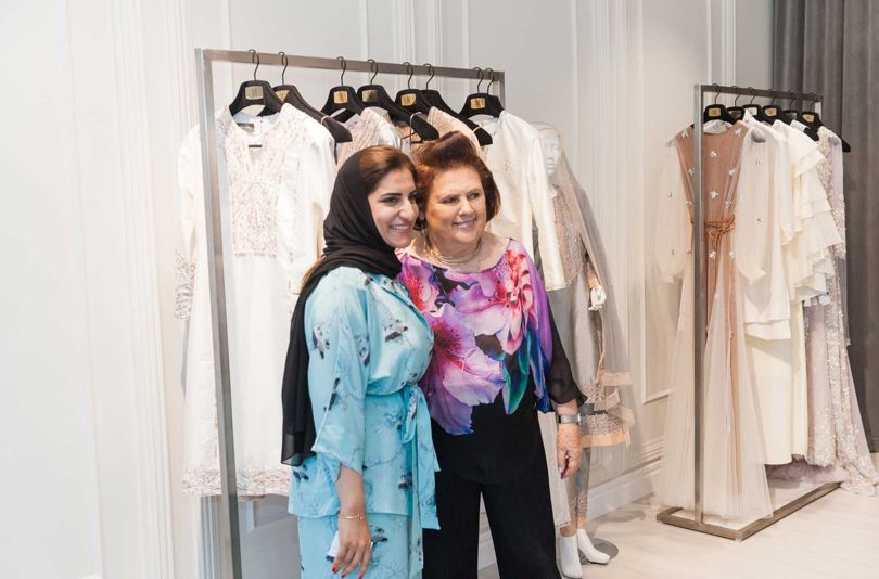 Chinese Vogue Suzy Menkes in Muscat
