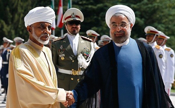 Sultan Qaboos in Iran