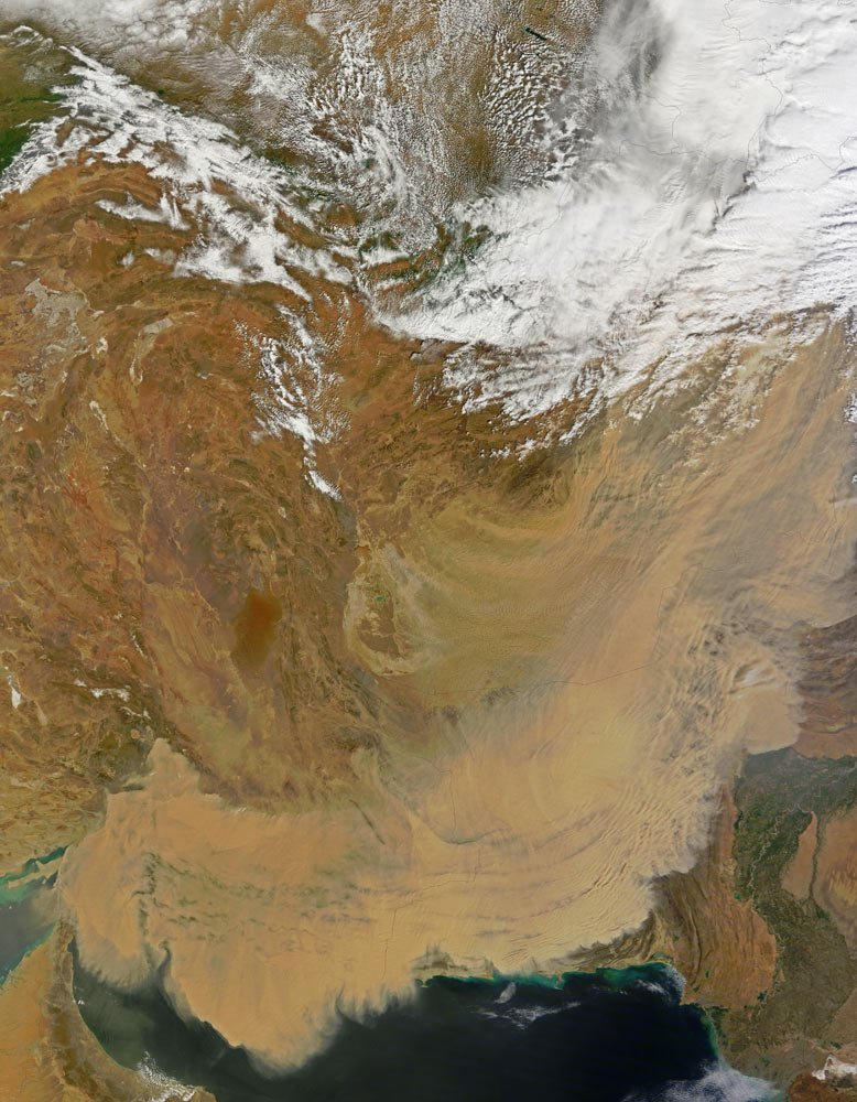 Oman Dust Storm 19th March 2012 (thanks NASA)