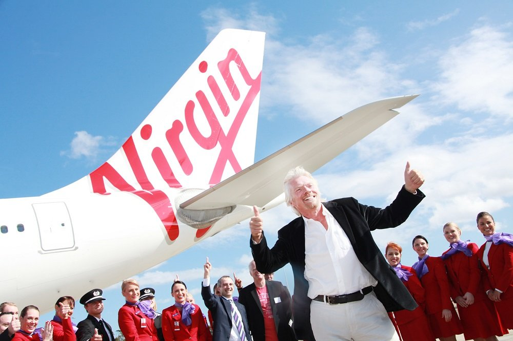 Richard Branson coming to Oman (thanks Virgin)