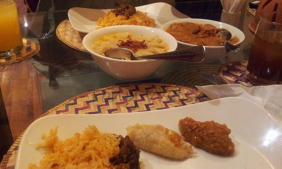 Al Mandoos Meal in Oman
