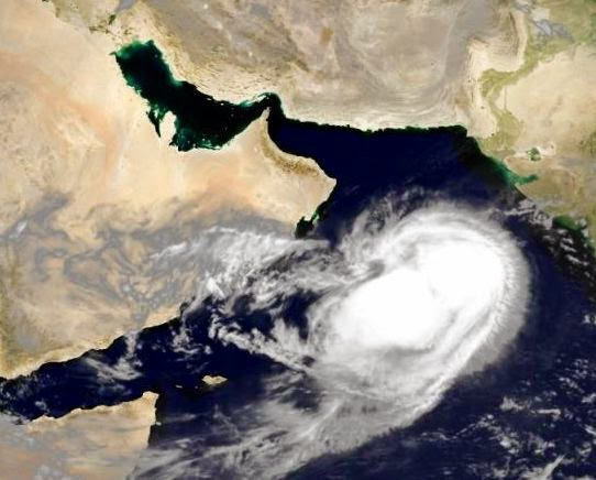 Cyclone Nanauk in the Arabian Sea