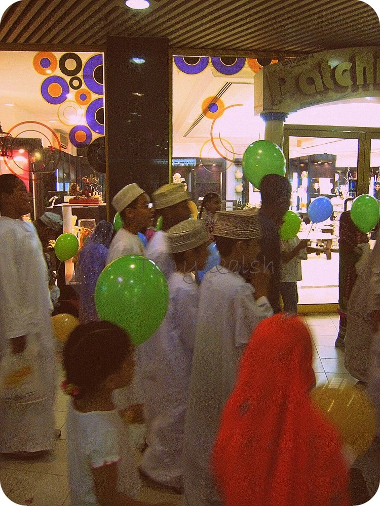 Qarenqashoo in Al Harthy Complex