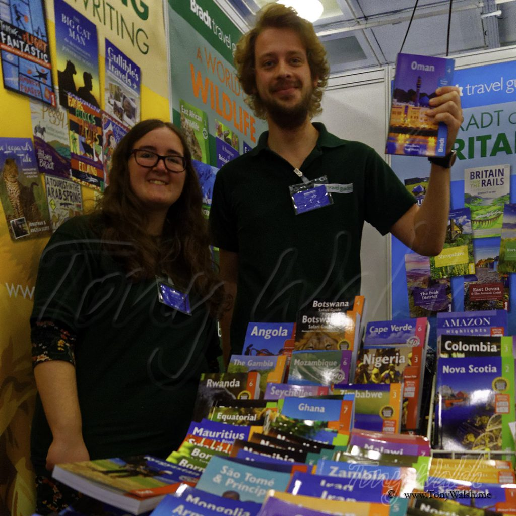 Holly & Ed of Bradt Guides