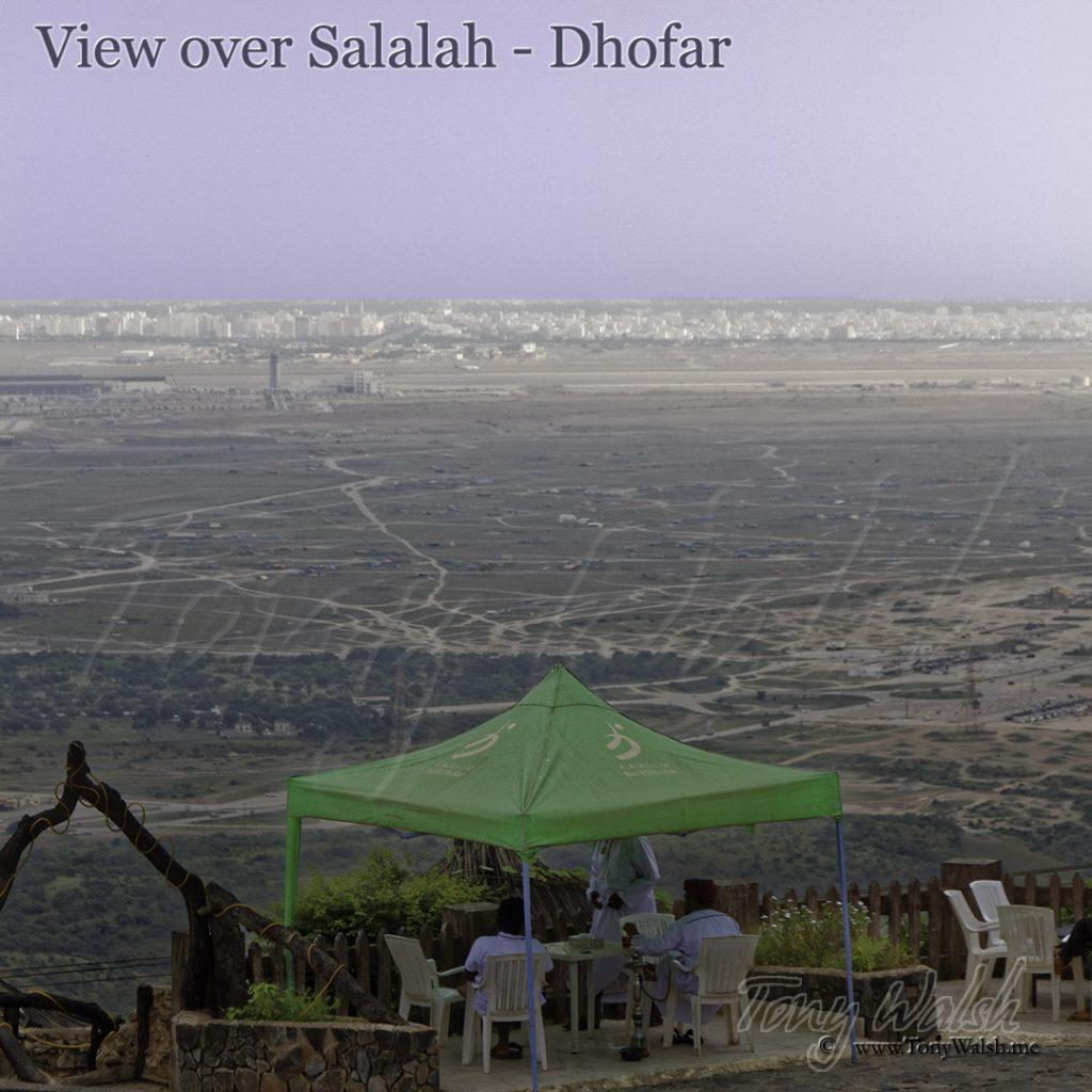 View over Salalah Dhofar
